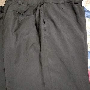 Haggar mens black pants